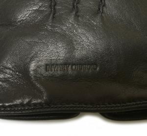 No.6 手袋 グローブ ジョルジオアルマーニ レザー Sサイズ 羊革 ラムスキン ナッパ