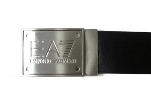 No.4 ベルト 長さ調整可能 EA7(ブラック×ブラック)