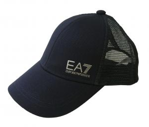 エンポリオアルマーニ 帽子 キャップ メンズ  ベースボール ゴルフ ネイビーブルー EA7