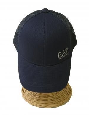 No.2 帽子 キャップ メンズ  ベースボール ゴルフ ネイビーブルー EA7 エンポリオアルマーニ