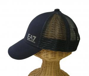 No.3 帽子 キャップ メンズ  ベースボール ゴルフ ネイビーブルー EA7 エンポリオアルマーニ