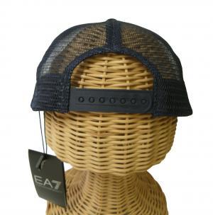 No.4 帽子 キャップ メンズ  ベースボール ゴルフ ネイビーブルー EA7 エンポリオアルマーニ