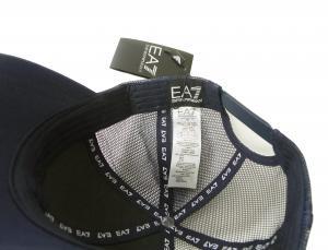 No.6 帽子 キャップ メンズ  ベースボール ゴルフ ネイビーブルー EA7 エンポリオアルマーニ