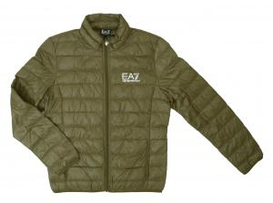 アルマーニ ライトダウンジャケット エンポリオアルマーニ EA7 (ストーングレー)
