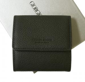 ジョルジオアルマーニ 小銭入れ メンズ  本革 コインケース (ブラック)