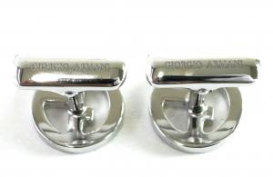 No.4 カフスボタン メンズ カフリンクス ジョルジオアルマーニ GIORGIO