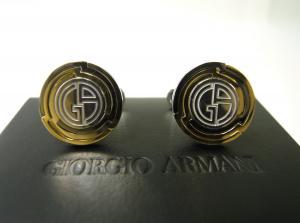ジョルジオアルマーニ カフスボタン メンズ カフリンクス  GIORGIO
