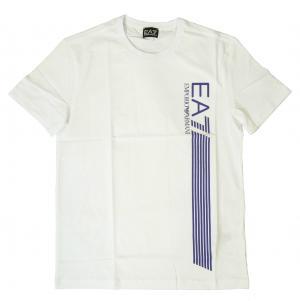 エンポリオアルマーニ Tシャツ メンズ ホワイト EA7