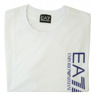 No.5 Tシャツ メンズ ホワイト エンポリオアルマーニ EA7