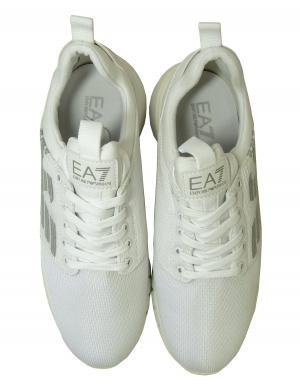 No.3 スニーカー メンズ ホワイト トレーニング 軽量 EA7 エンポリオアルマーニ