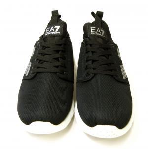 No.3 スニーカー メンズ ブラック トレーニング 軽量 EA7 エンポリオアルマーニ