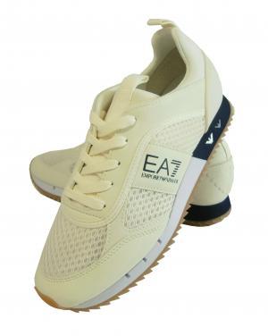 アルマーニ エンポリオアルマーニ EA7 スニーカー メンズ ホワイト トレーニング