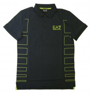 エンポリオアルマーニ ポロシャツ ネイビー メンズ ゴルフ  EA7