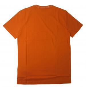 No.2 Tシャツ メンズ オレンジ エンポリオアルマーニ EA7