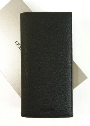 アルマーニ 財布 長財布 メンズ 黒 カード大容量 ジョルジオアルマーニ