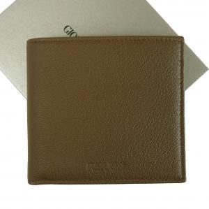 ジョルジオアルマーニ 財布 二つ折り メンズ ブラウン