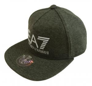 アルマーニ キャップ 帽子 ラッパーハット ベースボール ゴルフ EA7 グレー