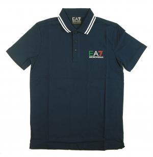 アルマーニ エンポリオアルマーニ EA7 ポロシャツ メンズ フラッグ イタリア