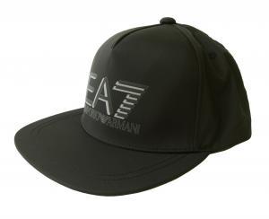 アルマーニ エンポリオアルマーニ EA7 キャップ 帽子 ラッパーハット ベースボール ゴルフ ブラック