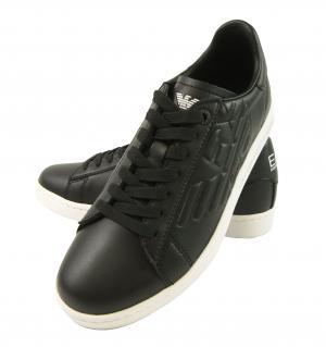 アルマーニ スニーカー メンズ シューズ 靴 ブラック エンポリオアルマーニ EA7