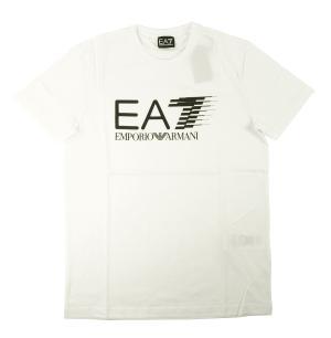 アルマーニ Tシャツ メンズ ホワイト エンポリオアルマーニ EA7