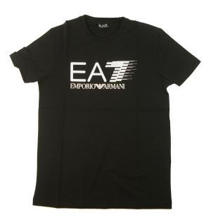 アルマーニ Tシャツ メンズ ブラック エンポリオアルマーニ EA7