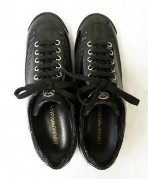 No.6 エンポリオアルマーニ レディス スニーカー 靴 ブラック