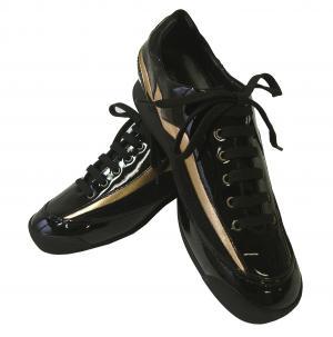エンポリオアルマーニ スニーカー レディース  靴 ブラック
