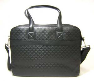 No.3  <訳あり・アウトレット>バッグ エンポリオアルマーニ 3ウェイ ビジネスバッグ (ブラック)