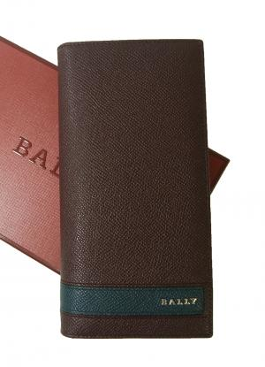 バリー 長財布 二つ折 ボルドー 型押しカーフ LALTYL.L/46
