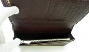 No.4 長財布 二つ折 ボルドー 型押しカーフ LALTYL.L/46