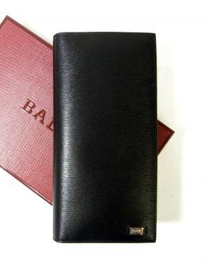バリー 長財布 二つ折 エンボスカーフ (ブラック) MADAMS/40