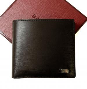 バリー 財布 二つ折 エンボスカーフ (ブラウン) MARTELS/91 MainPhoto