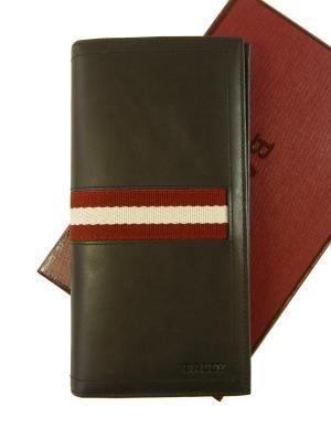 バリー 長財布 メンズ 二つ折 (チョコレート) TALIRO/271