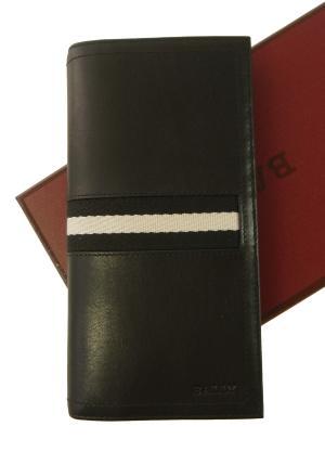 バリー 長財布 メンズ 二つ折 (ブラック) TALIRO/290