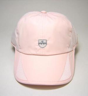 バリー レディス ゴルフ キャップ (ピンク+ホワイト)