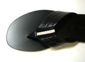 No.6 メンズ サンダル (ブラック) 6(日本サイズ約25cm) LANTRO/00