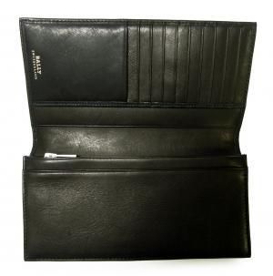 No.4 長財布 二つ折 カーフ (ブラック) TALIRO/290