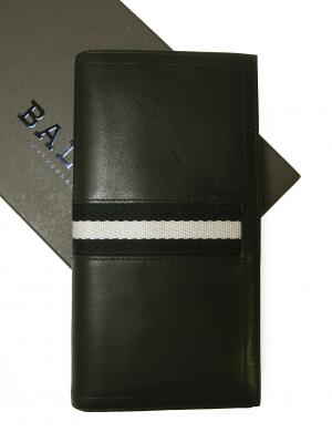 バリー <訳あり・アウトレット>長財布 カーフ ブラック TALIRO/290