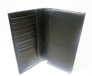 No.4 長財布 二つ折 (ブラック) カーフ *刻印有り TALIRO/290