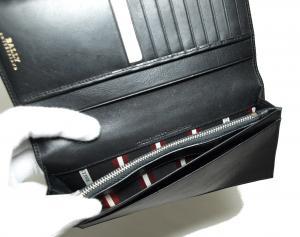 No.5 長財布 二つ折 (ブラック) カーフ *刻印有り TALIRO/290