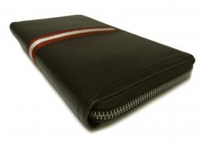 No.7 長財布 ラージ ラウンドファスナー (チョコレート) TEVIN/271 *大きめサイズ