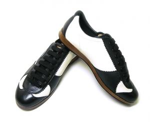 バリー スニーカー レザー (ブラック) 10(日本サイズ約29cm) YOSHUA/00 靴