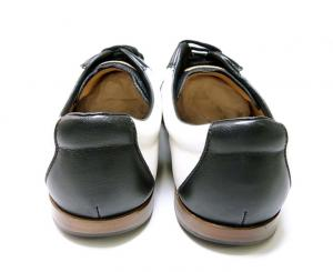 No.4 スニーカー レザー (ブラック) 10(日本サイズ約29cm) YOSHUA/00 靴