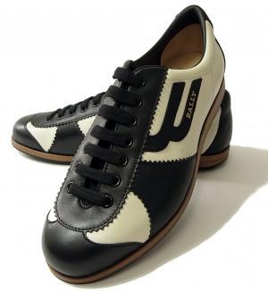No.7 スニーカー レザー (ブラック) 10(日本サイズ約29cm) YOSHUA/00 靴