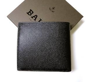 No.3 BYIE.B/60 二つ折財布(ブラック×レッド)