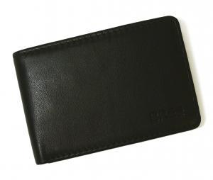 No.7 財布 二つ折  ブラック 海外モデル 日本札は入りません