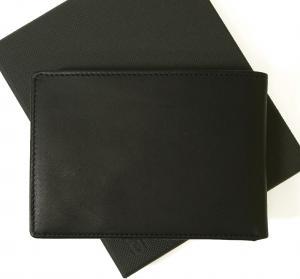 No.2 財布 (黒) Oxford 138 海外モデル *日本札は入りません