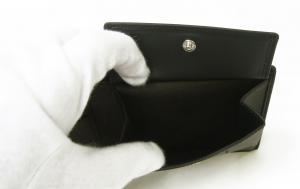 No.6 財布 (黒) Oxford 138 海外モデル *日本札は入りません