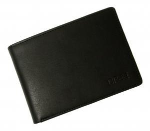 No.7 財布 (黒) Oxford 138 海外モデル *日本札は入りません